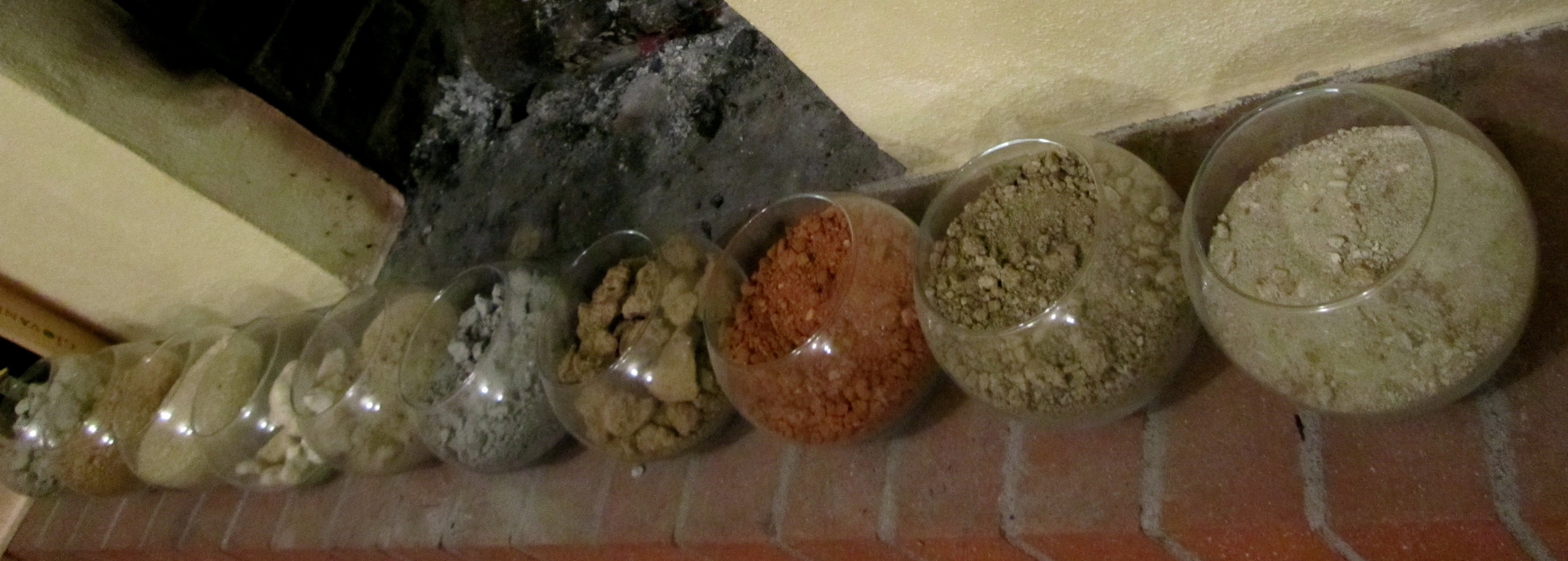 Different soil types found in the vineyards of giovanni for What is soil made out of