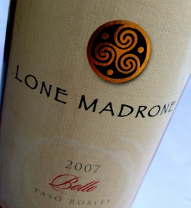 Lone Madrone Nebbiolo