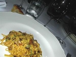 My first ever Tajarin dish. Oct 2005.