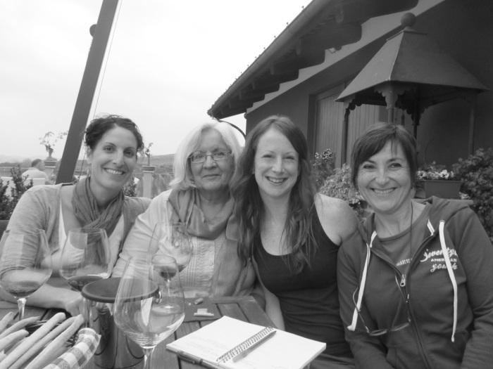 Jordana, Diane, me, Liliana.