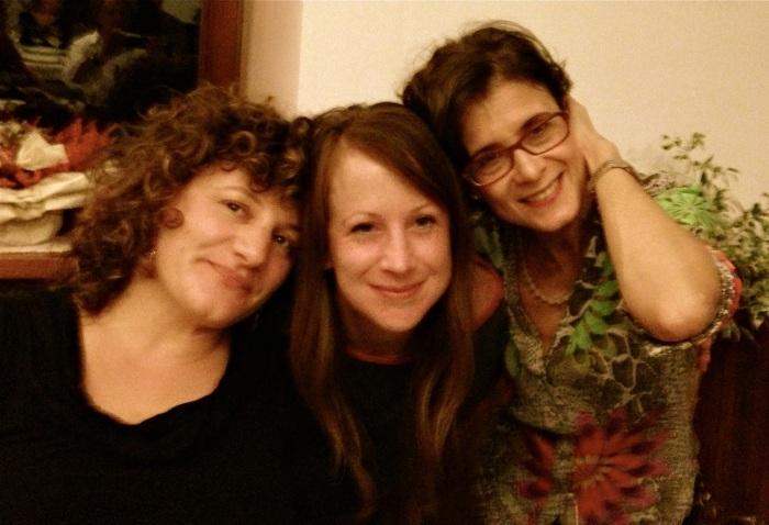 Irene, me, e Maria Teresa.