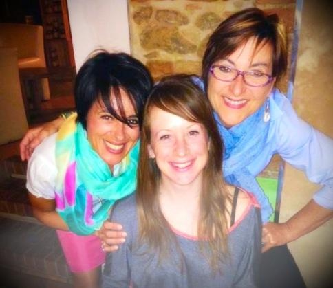Francesca, Lili, and me