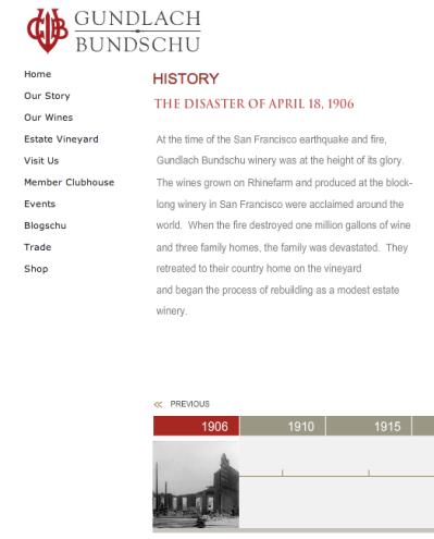 Gundlach Bundschu history in SF
