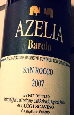 Azelia San Rocco Barolo 2007.