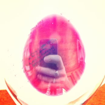 My accidental selfie-in-the-Sagrantino!
