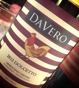 Davero 2012 Dolcetto.