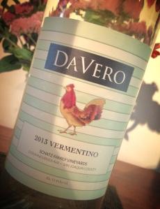 Davero 2013 Vermentino.