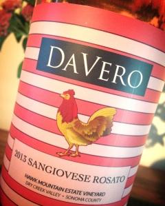 Davero 2013 Sangio Rosato.