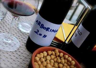 Tasting what I harvested three years ago, at Renato Corino.