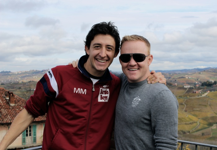 Mauro & Caleb.