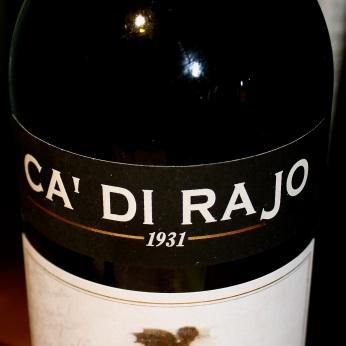 Ca' di Rajo Raboso del Piave 2007.
