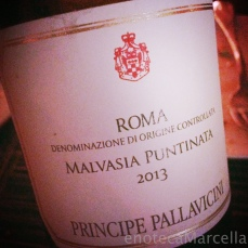 The second one included a Malvasia, ...
