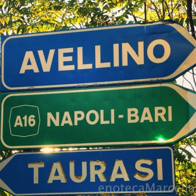 A16 through Avellino and Taurasi