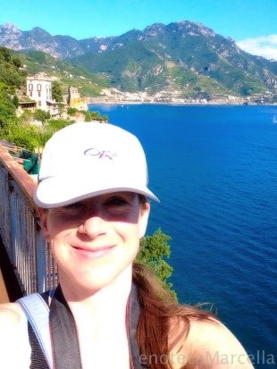 On my trek between Ravello and Amalfi.