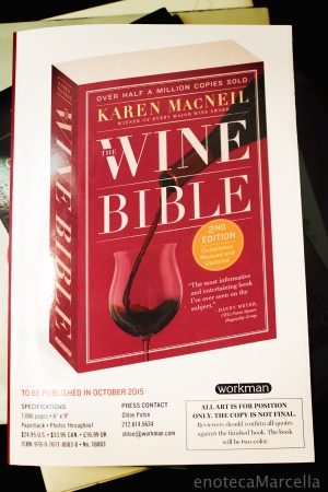 Wine Bible Galley Proof!