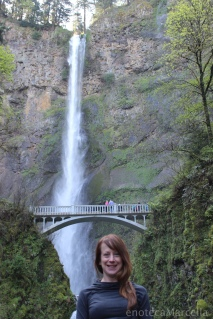 Me at Multnomah Falls.