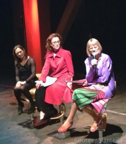 Andrea Robinson, Karen MacNeil, and Jancis Robinson.