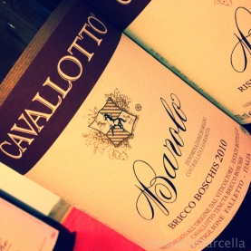 Cavalotto Bricco Boschis, the wine ...
