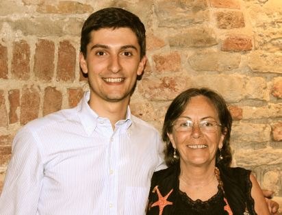 Riccardo Sobrino & his mother from Cascina delle Rose