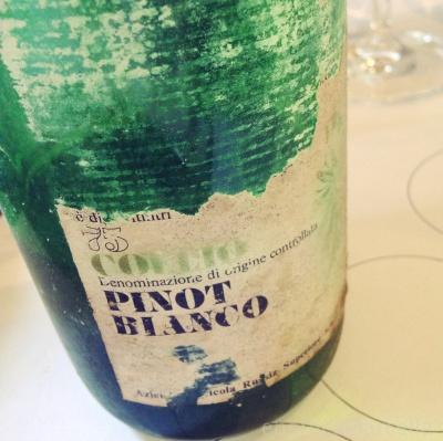 Marci Felluga Pinot bianco ~1984