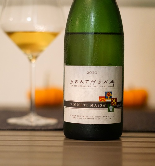 Derthona 2010, tasted October 2018