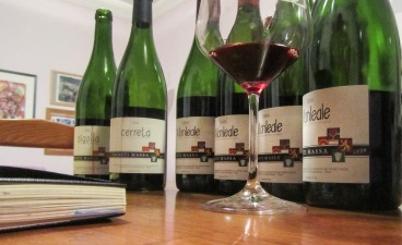 ... the then current Timorasso wines & Barberas